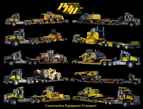 construction equipment -transport