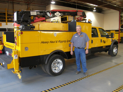 Larry Hengsteler, Precision Heavy Haul, Inc