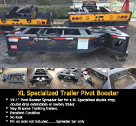Equipment for sale - XL Specialized Trailers Pivot Booster - $6800